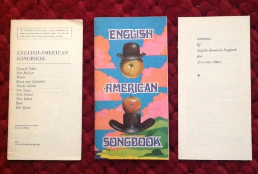 Altena, Ernst van - English american songbook