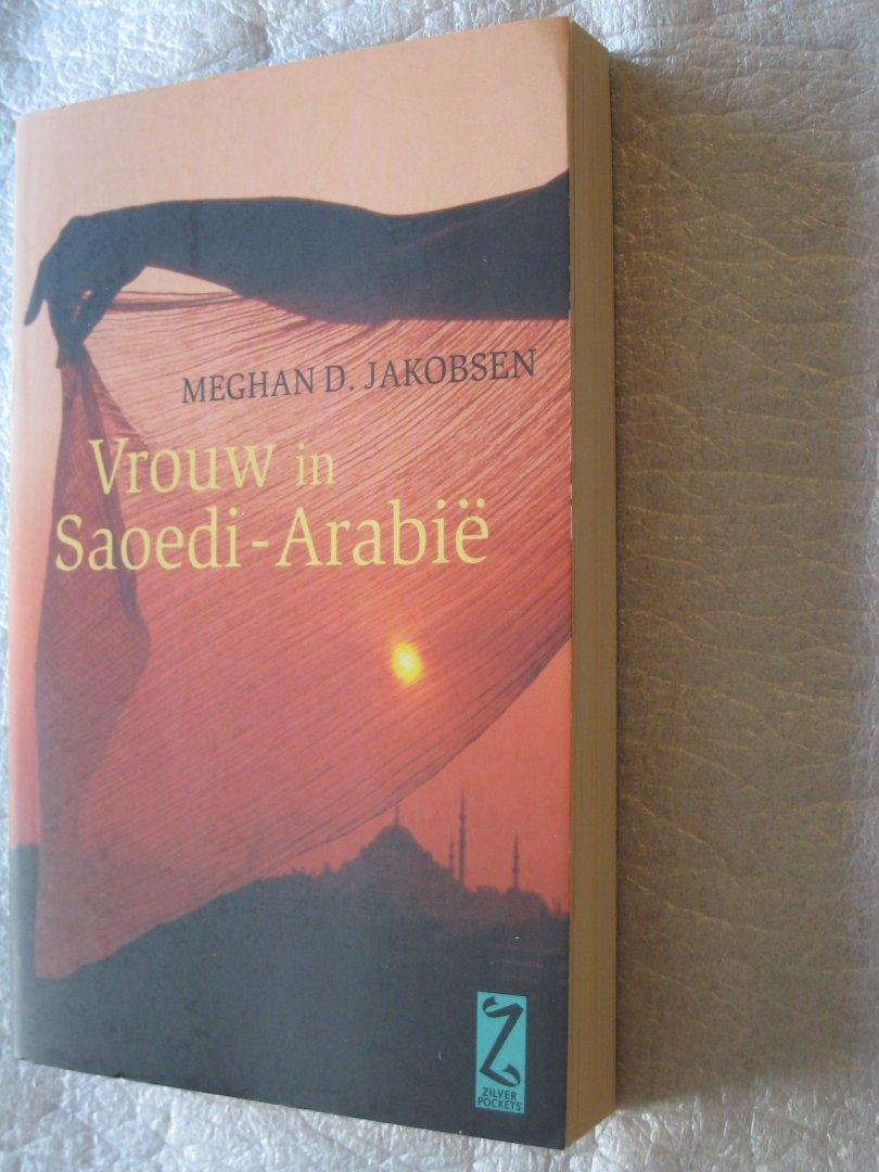 Meghan D. Jakobsen - Vrouw in Saoedi-Arabie