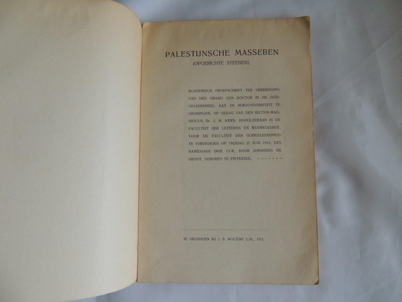 Boekwinkeltjes nl - Palestijnsche masseben  (opgerichte