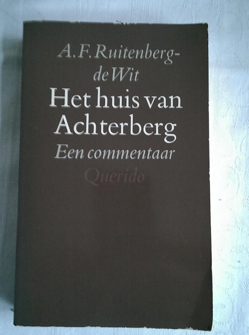 Ruitenberg de wit a f het huis van achterberg een com - Amenager een voorgerecht van het huis ...