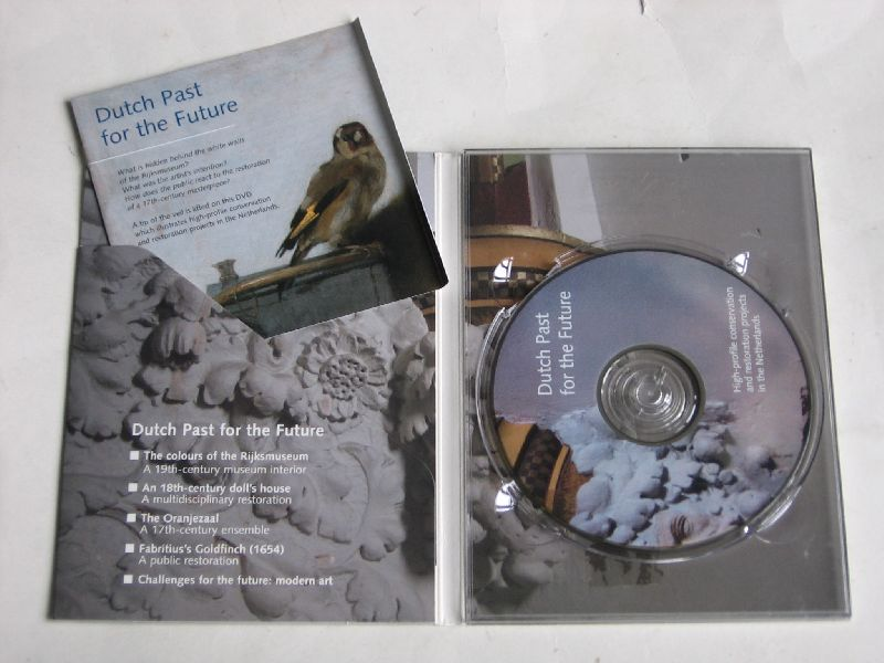 - Dutch past for the Future, high –profile conservation ans restoration projects in the Netherlands, DVD