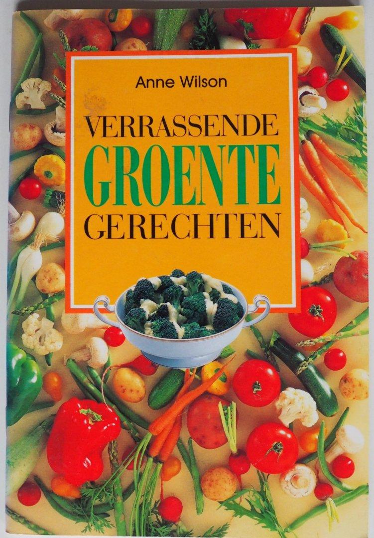 Wilson, Anne - Verrassende groentegerechten