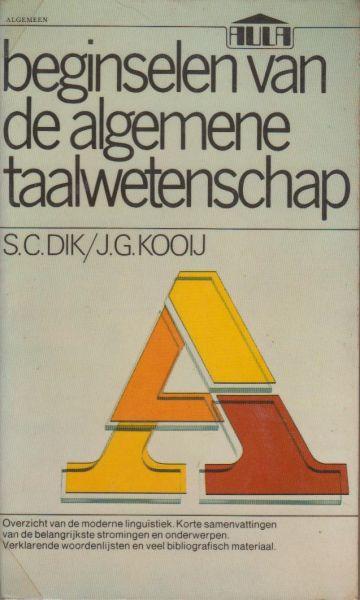 Dik en J.G. Kooij, S.C. - Beginselen van de algemene taalwetenschap