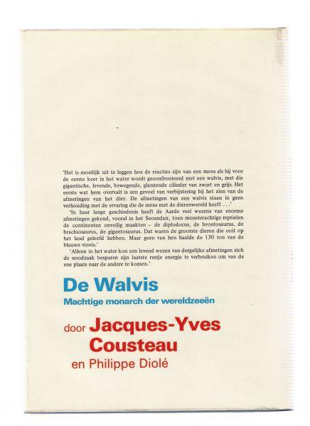cousteau, jacques-yves en diole, philippe - de walvis machtige monarch der wereldzeeen ( met 124 foto,s in 4 kleuren )