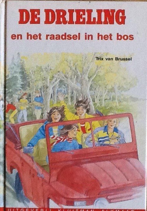Brussel, Trix van - De  Drieling en het raadsel in het bos