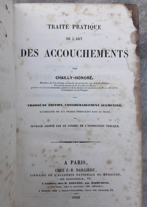 Chailly-Honoré - l'Art des accouchements