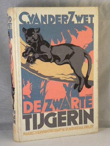 Zwet, C. van der - De zwarte tijgerin
