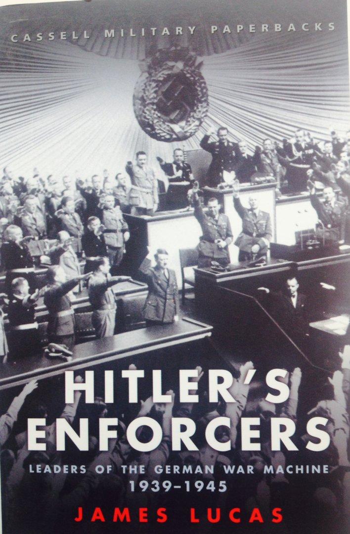 Boekwinkeltjes nl - Hitler's Enforcers  Leaders of the German War