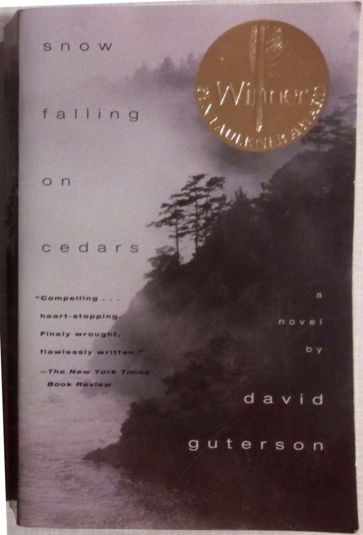 an analysis of snow falling on cedars by david guterson David guterson's snow falling on cedars david guterson's snow  of the atlantic has been assembled to provide a thorough and readable analysis of each of the.
