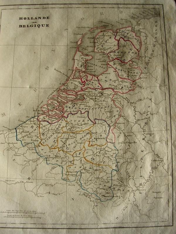 C. V. Monin - Atlas Universel de Géographie Ancienne et Moderne en 42 cartes