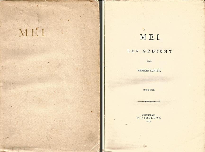 Gorter, Herman - Mei. Een gedicht
