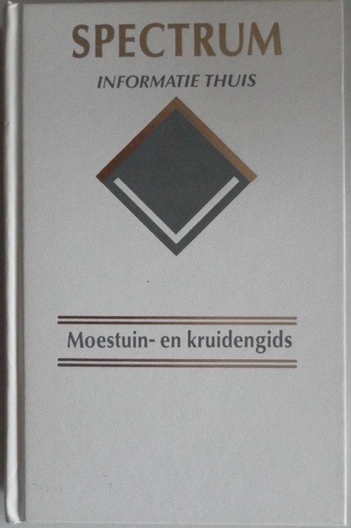 iilustratie  Vogt Guusanke en Paul - Spectrum Informatie Thuis Moestuin- en kruidengids