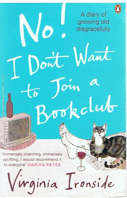 Ironside, Virginia - No! I don't want to join a bookclub