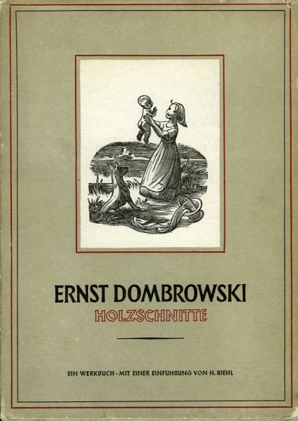 Ernst Dombrowski Holzschnit...