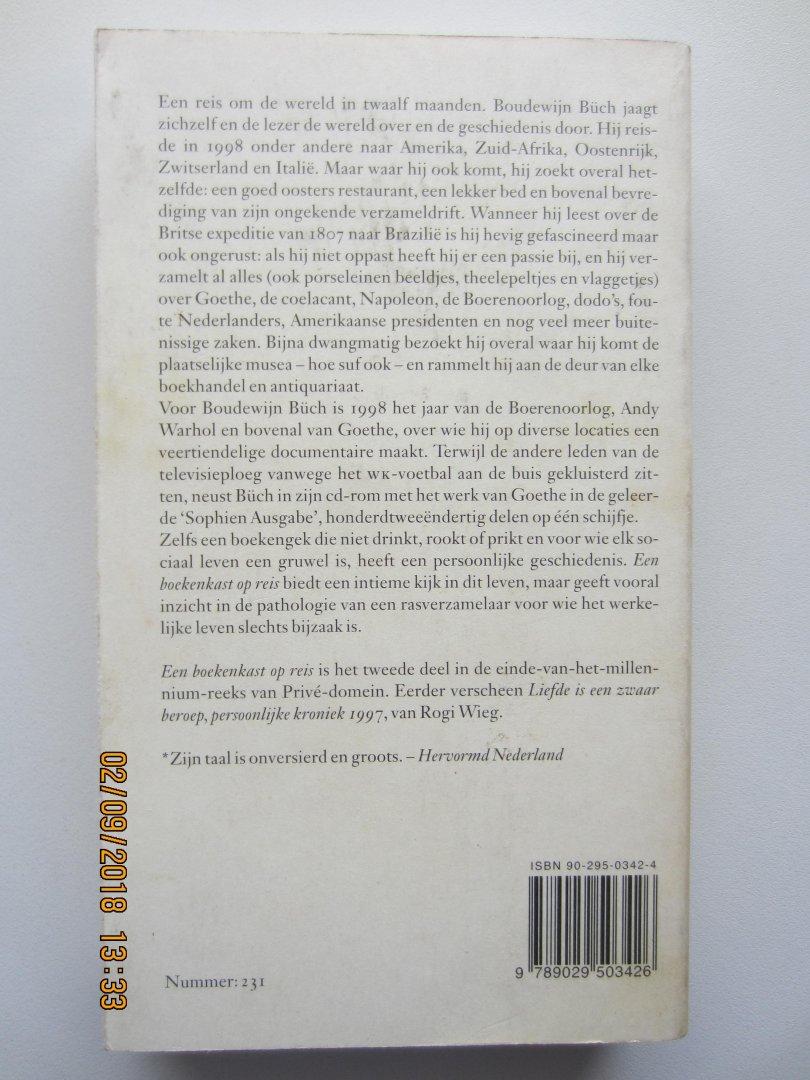 boudewijn een boekenkast op reis persoonlijke kroniek 1998 priv domein