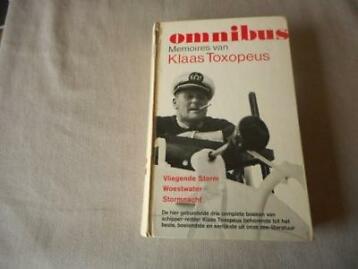 Klaas Toxopeus - Memoires van Klaas Toxopeus de schipper van de reddingboot 'Insulinde'. Omnibus; 1-Vliegende Storm / 2-Woest water / 3-Stormnacht