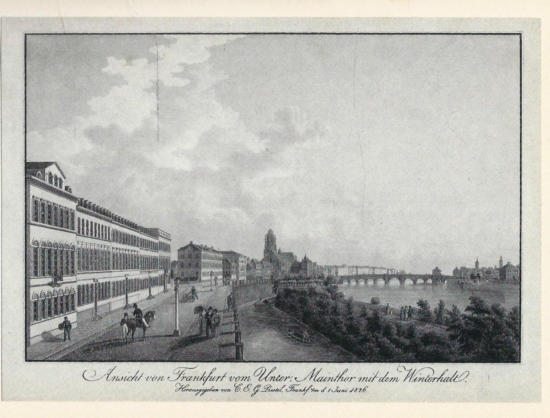 Hässlin, Johann Jakob - FRANKFURT STADT UND LANDSCHAFT.