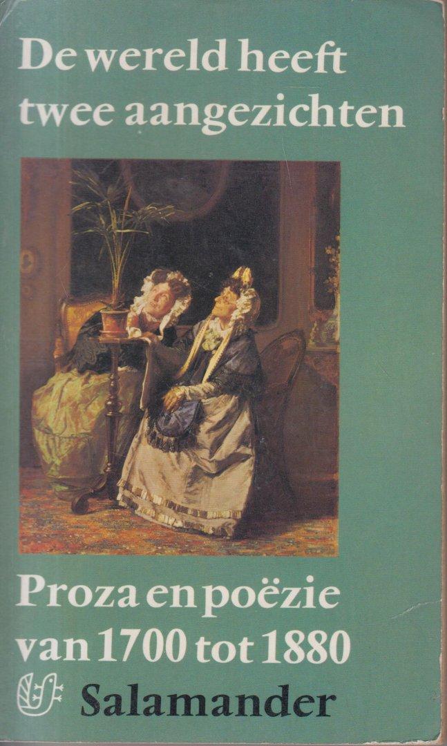 Nieuwenhuys (born Semarang, Dutch East Indies, June 30, 1908 - died Amsterdam, November 8, 1999), Robert - De wereld heeft twee aangezichten. Proza en poezie van 1700 tot 1880