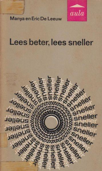 Leeuw, Manya en Eric de - Lees beter, lees sneller