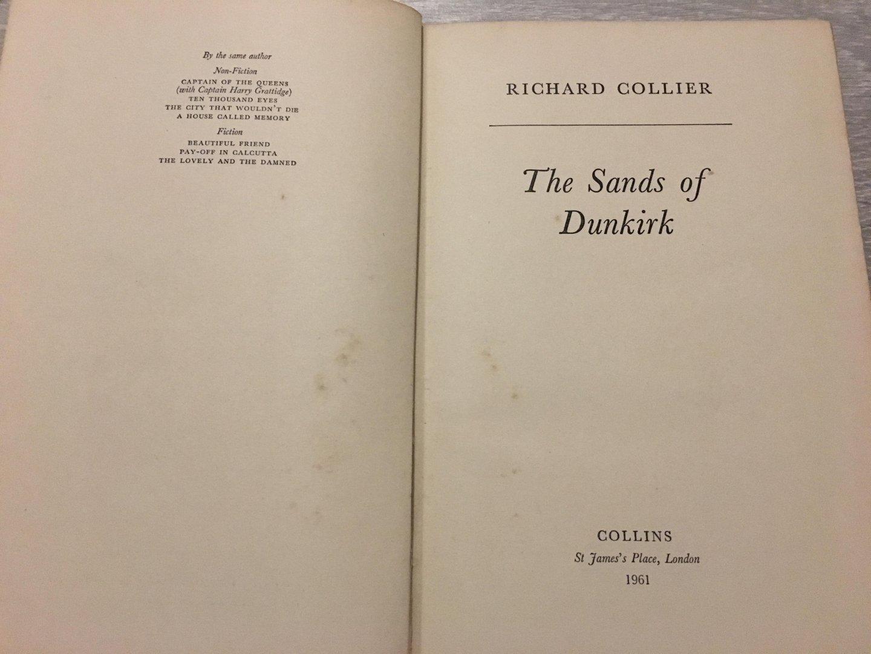 Richard Collier - The Sandbof Dunkirk