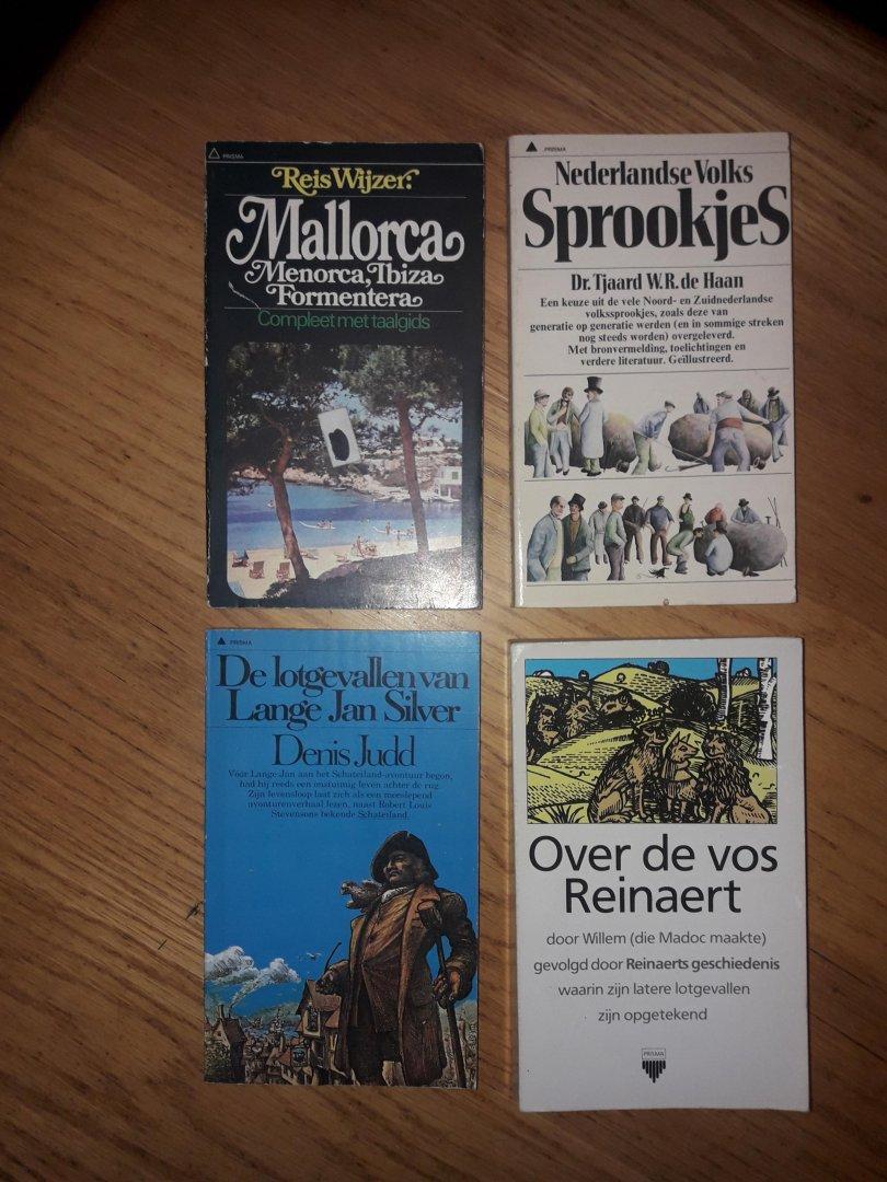 Dennis-Jones / de Haan / Judd / Nimwegen (vert) - Mallorca / Nederlandse volks sprookjes / De lotgevallen van lange jan silver / De vos Reinaert