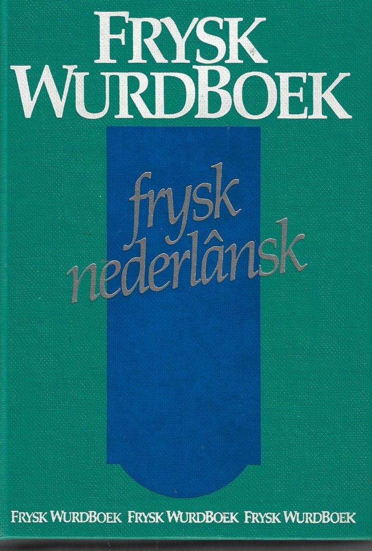 ZANTEMA, J.W. - Frysk Wurdboek Frysk nederlânsk