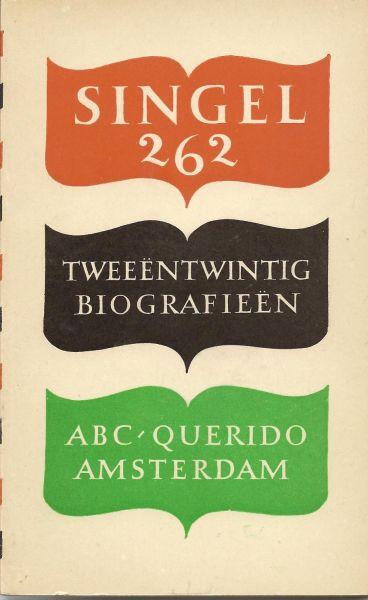 ABC/Querido (redactie) - Tweeentwintig biografieen. Rekenschap over een jaar uitgeversactiviteit.