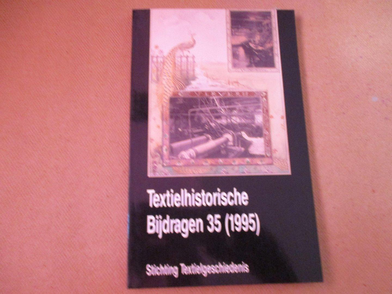 Diederiks. Redactie Dr. H.A. - Textielhistorische Bijdragen - 35 (1995) / ook leverbaar 17, 21, 23, 30 en 32.