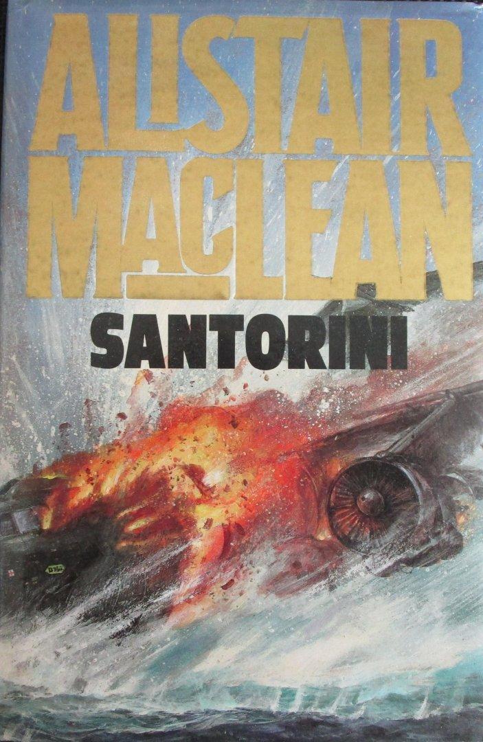 Maclean, Alistair - Santonini (Engelstalig)