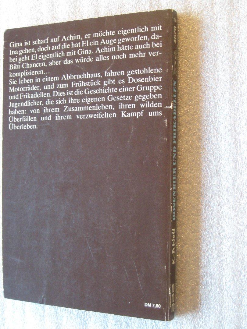 Klaus-Peter Wolf - Dosenbier und Frikadellen