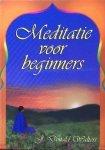 Walters, J.Donald - Meditatie  voor beginners  [ boek + cassette in kartonn. box]
