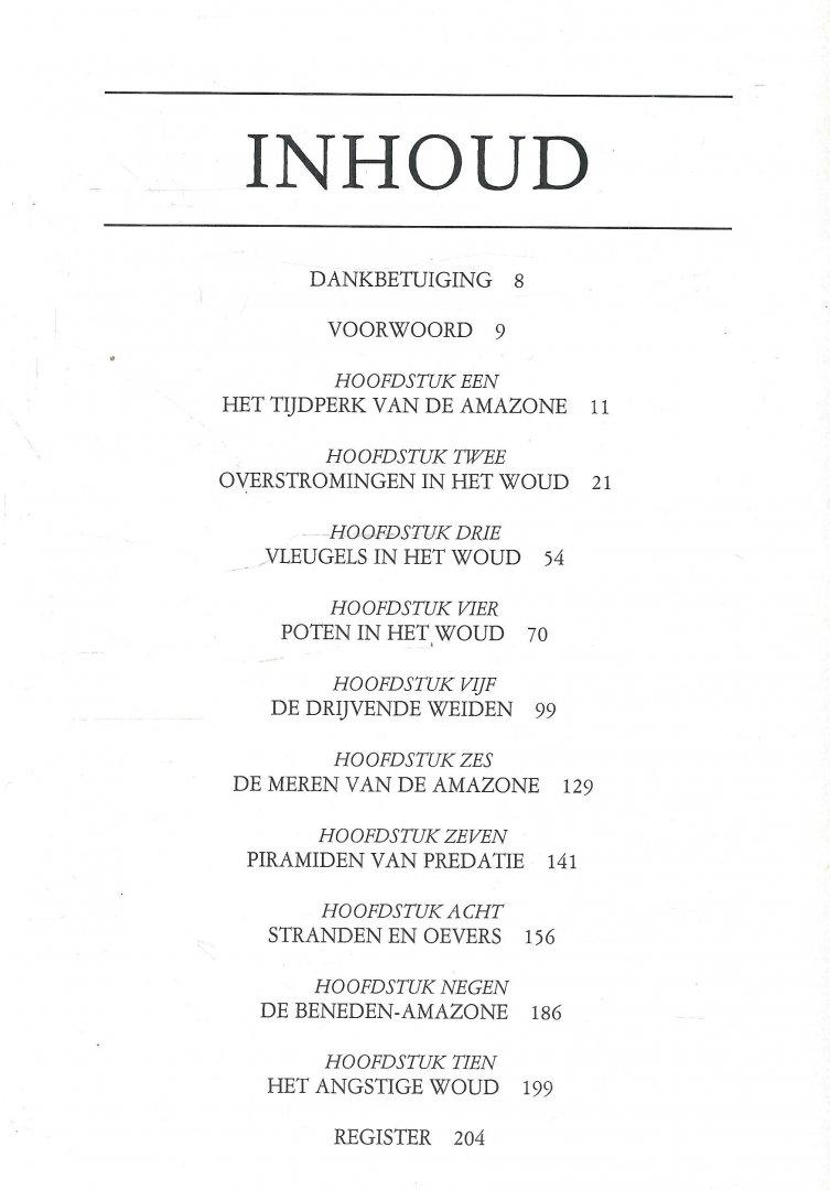 Goulding, Michael - AMAZONE, DE OVERSTROOMDE WOUDEN