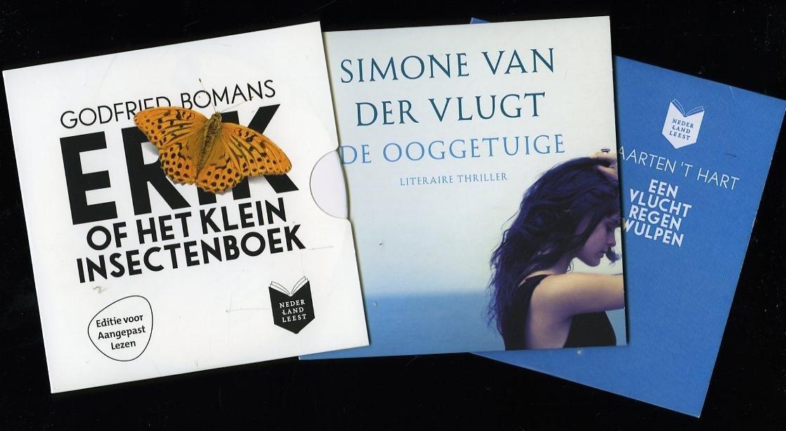 3 'Aaangepast lezen' CDs: E...