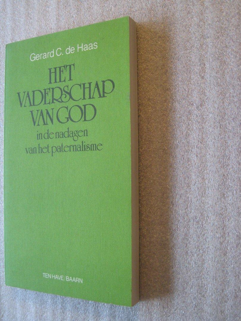 Haas, Gerard C. de - Het vaderschap van God in de nadagen van het paternalisme