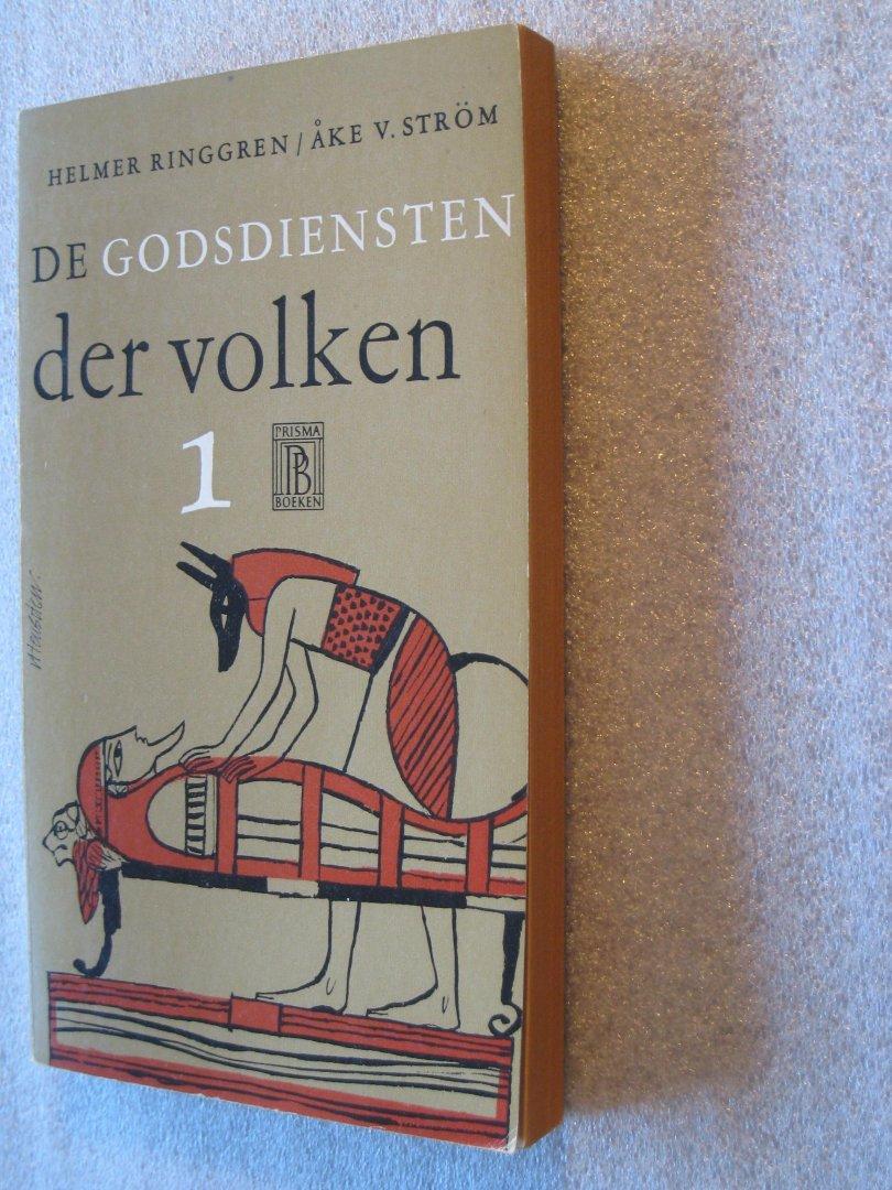 Ringgren, Helmer / Strom, Ake v. - De godsdiensten der volken 1 en 2