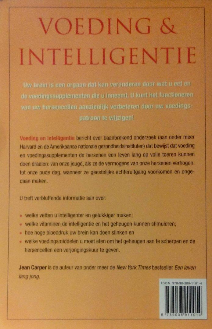 voeding en intelligentie