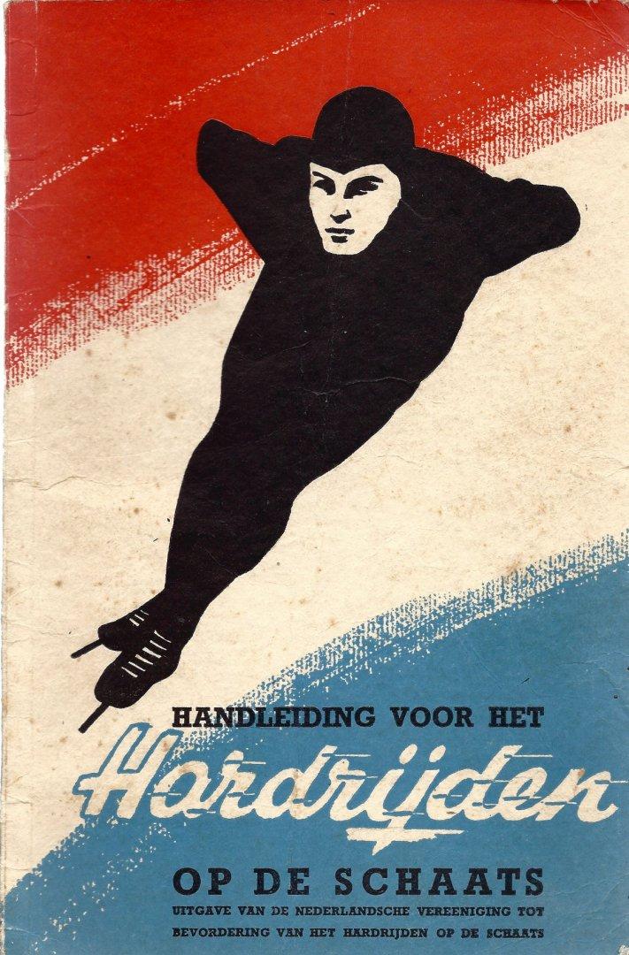 TACOONS, W.H. EN JALVING, H. - Handleiding voor het te hardrijden op de schaats