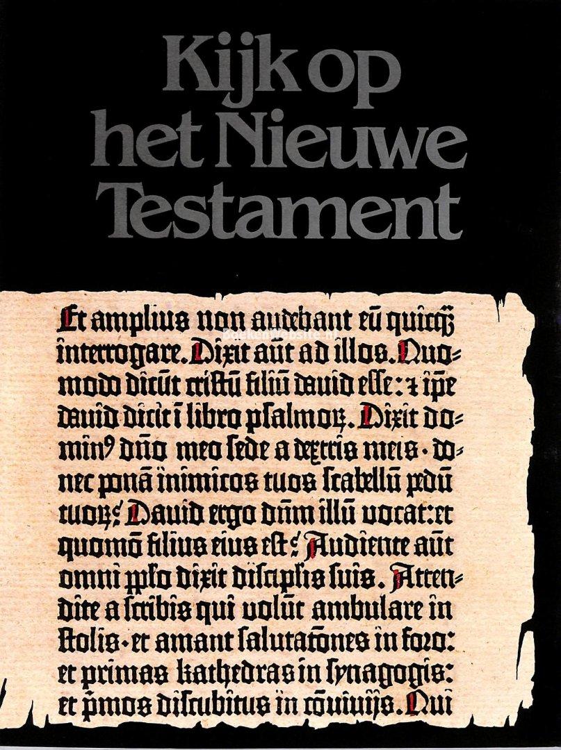 Corcos, Georgette - Kijk op het nieuwe testament