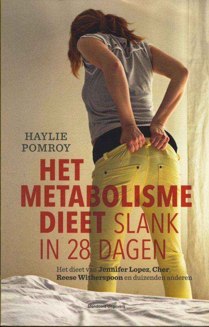 metabolisme dieet pomroy
