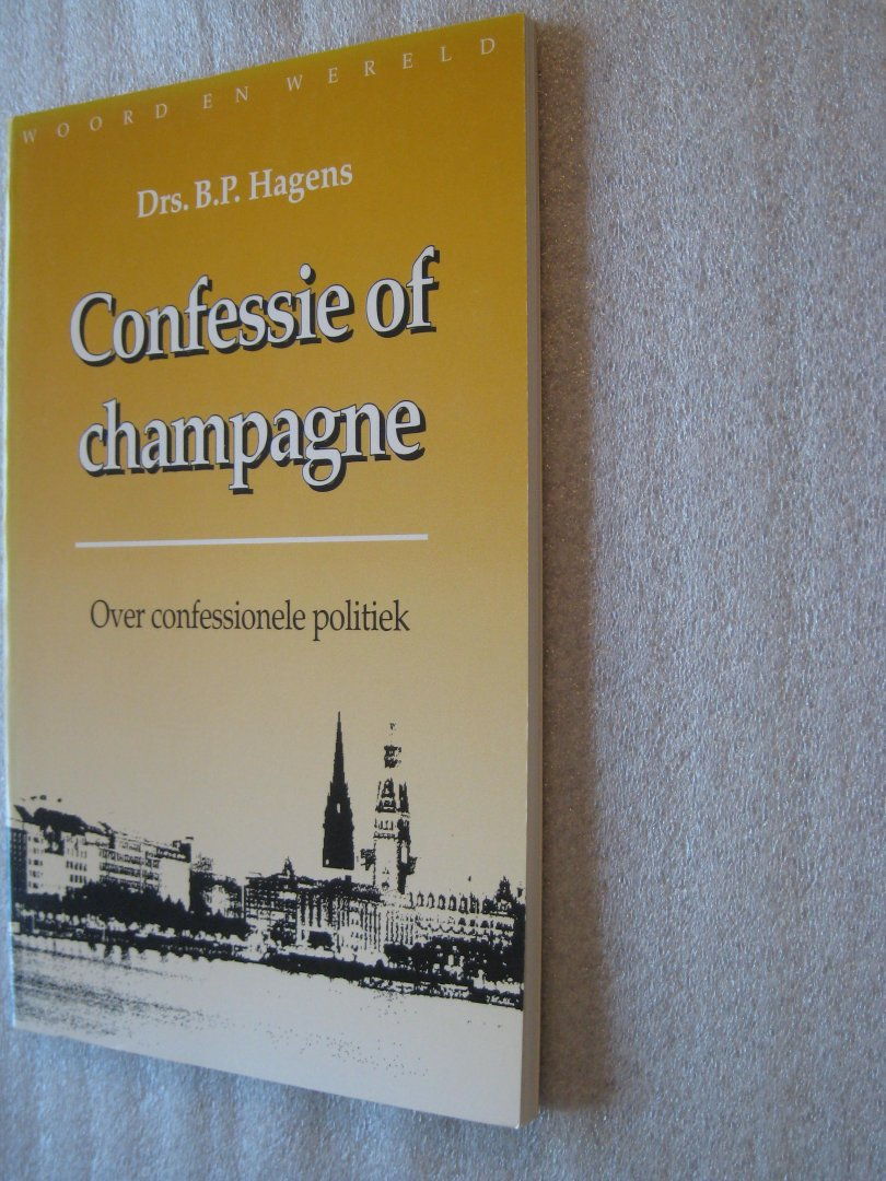 Hagens Drs. B.P. - Confessie of champagne