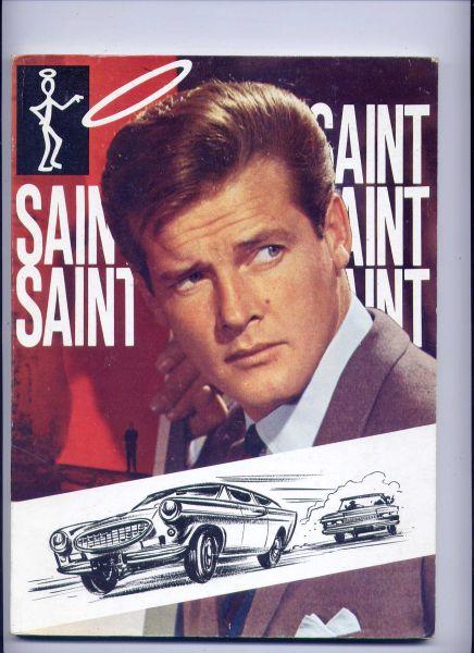 CHARTERIS, LESLIE - De Saint (Inhoud: De Saint en de Face Gang; - op het circuit; - doet aangifte; Het mysterie v/d Ming vaas; Een haai voor de Saint; - in NOK-DOK-TO; - en de diamanten)