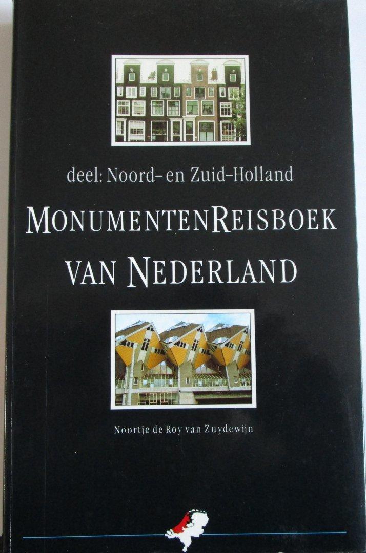 De Roy van Zuyderwijn, Noortje - Monumentenreisboek van Nederland, deel:Noord- en Zuid-Holland
