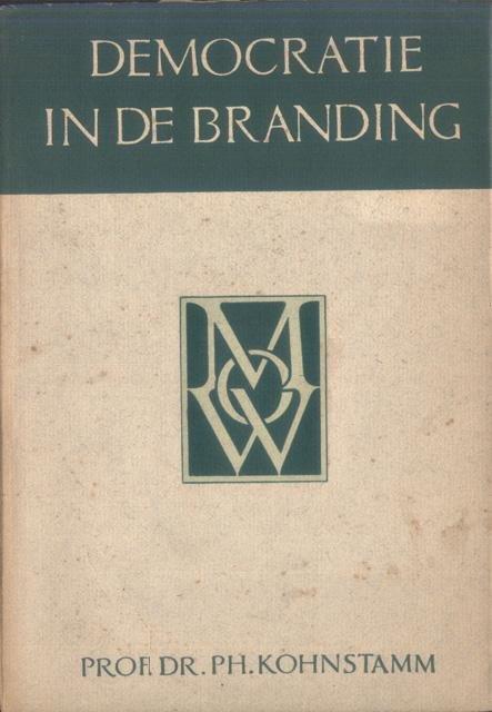 Kohnstamm, Ph. - Democratie in de branding