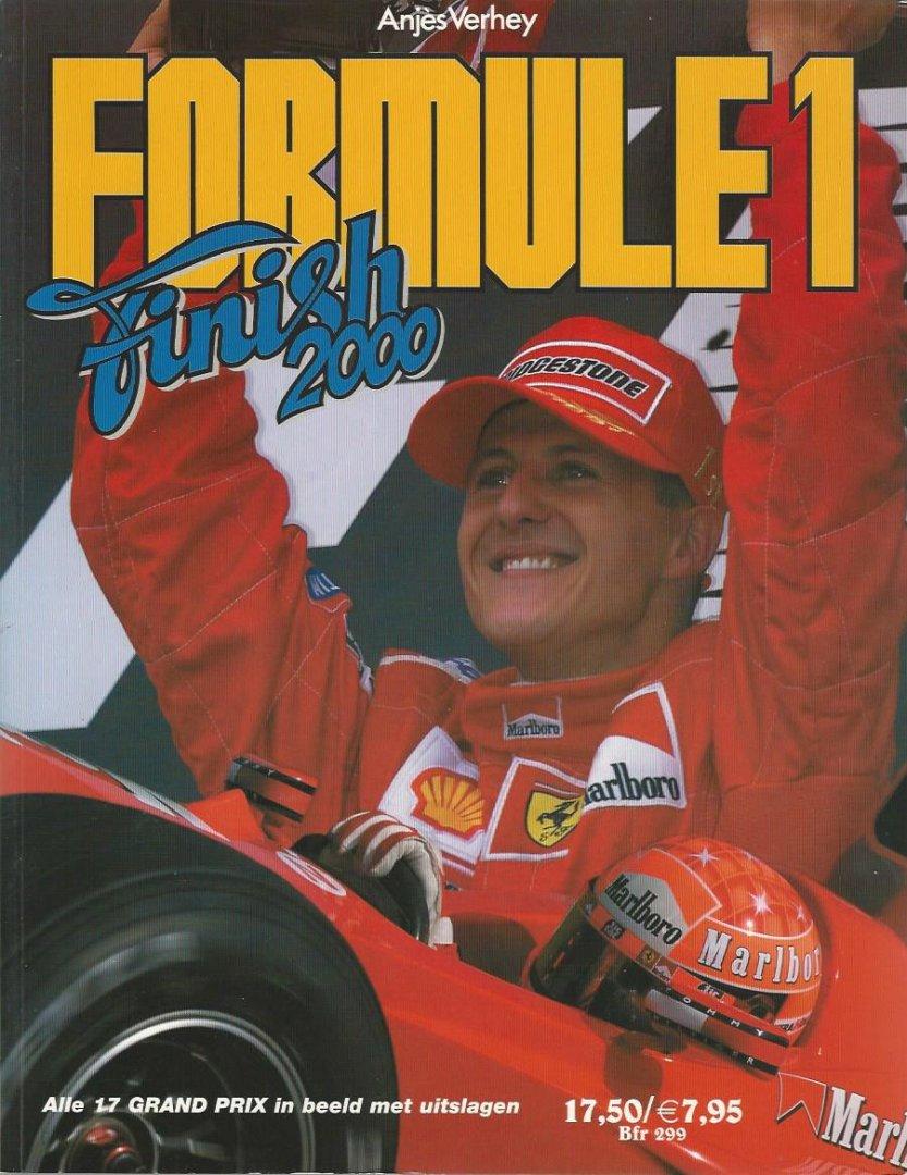 VERHEY, ANJèS - Formule 1 Finish 2000 -Alle 17 grand Prix in beeld met uitslagen