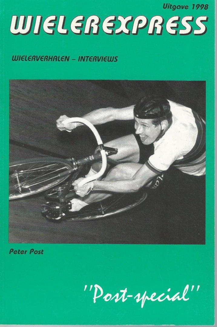 ZOMER, JAN - Wielerexpress 1998 -Wielerverhalen - interviews - foto's