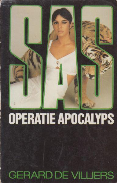 Villiers (Parijs, 8 december 1929 - Paris, 31 oktober 2013), Gerard de - SAS Operatie Apocalyps. Oorspr. Operation Apocalypse. Vert. G.J. van Wagensveld