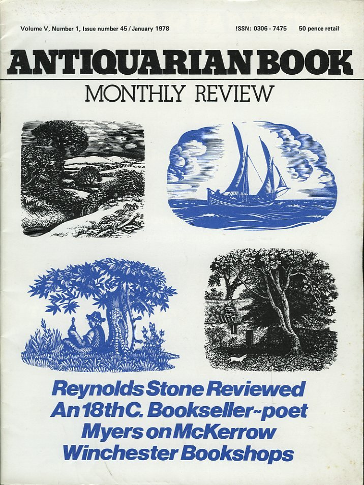 Antiquarian Book Monthly Re...