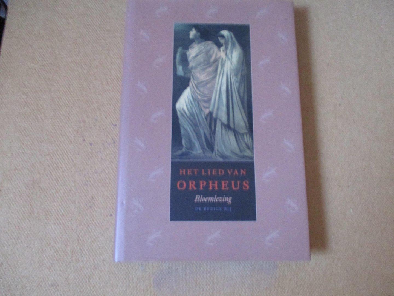 Paardt. Rudi van der - (Samenstelling en inleiding) - Het lied van ORPHEUS / de antieke hellevaart in de moderne nederlandse literatuur