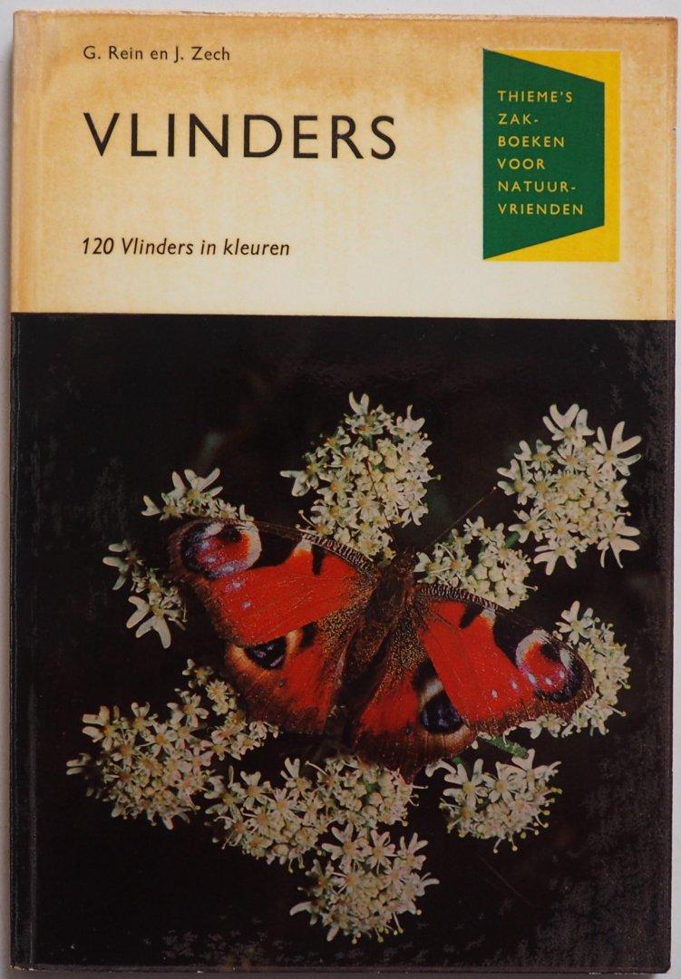 Rein, G. en Zech, J. - Vlinders 120 vlinders in kleuren Zakboeken voor natuurvrienden