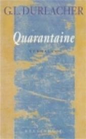 G.L. Durlacher - Quarantaine verhalen